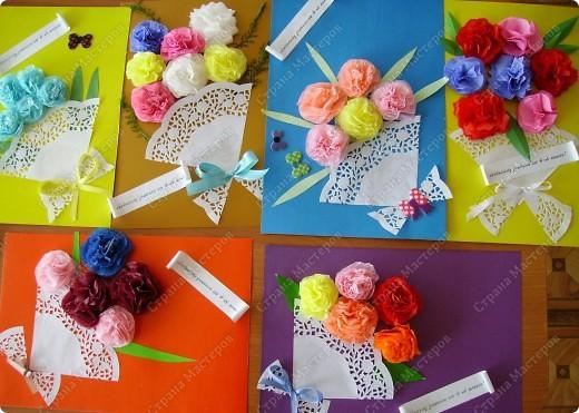 Вот такой букет мы с детьми делали ко Дню учителя. фото 16