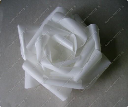 Роза из кальки - легко! фото 11