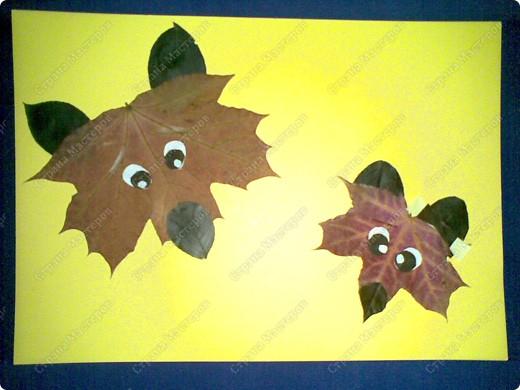 Лис и лисенок- повторюшка фото 1