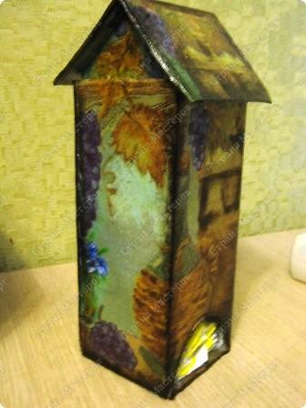 Это чайный домик в продолжение винной темы к часам (их можно посмотреть в моем блоге). фото 2