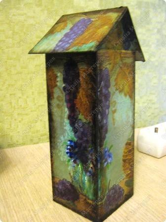 Это чайный домик в продолжение винной темы к часам (их можно посмотреть в моем блоге). фото 3
