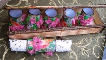Для колец использовала картонные одноразовые мундштуки для прибора Спирографа (применяется в пульманологии). фото 1