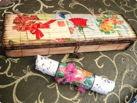 Для колец использовала картонные одноразовые мундштуки для прибора Спирографа (применяется в пульманологии). фото 2