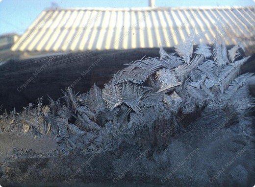 Пришла волшебница зима.Взяла она краски и расписала морозными узорами окна. фото 19