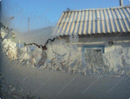 Пришла волшебница зима.Взяла она краски и расписала морозными узорами окна. фото 17