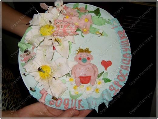 У моего крестничка 5 ноября было день рождения - он уже у нас взрослый - ведь ему исполнился годик!!! Его любимая бабушка Люба ( женщина с ЗОЛОТЫМИ ручками) испекла ему невероятный торт!!! Мне очень хочется Вам показать этот фееричный шедевр! фото 8