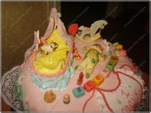 У моего крестничка 5 ноября было день рождения - он уже у нас взрослый - ведь ему исполнился годик!!! Его любимая бабушка Люба ( женщина с ЗОЛОТЫМИ ручками) испекла ему невероятный торт!!! Мне очень хочется Вам показать этот фееричный шедевр! фото 5