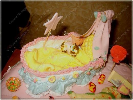 У моего крестничка 5 ноября было день рождения - он уже у нас взрослый - ведь ему исполнился годик!!! Его любимая бабушка Люба ( женщина с ЗОЛОТЫМИ ручками) испекла ему невероятный торт!!! Мне очень хочется Вам показать этот фееричный шедевр! фото 3