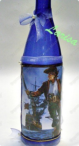 "Делала заказ на свадьбу ""Пираты"", 12 бутылок фото 17"