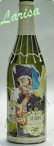 "Делала заказ на свадьбу ""Пираты"", 12 бутылок фото 26"
