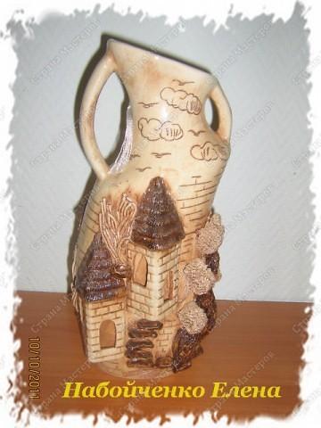 Эту вазу мне подарила мама на день рождения, она купила ее на рынке, очевидно, что это ручная работа, я думаю девочкам из СМ, будет интересно, может кому - нибудь пригодится. фото 2
