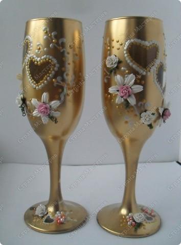 вот такой золотой набор на золотую свадьбу... фото 3