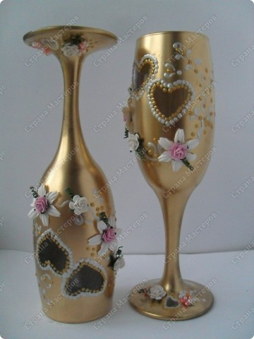 вот такой золотой набор на золотую свадьбу... фото 5