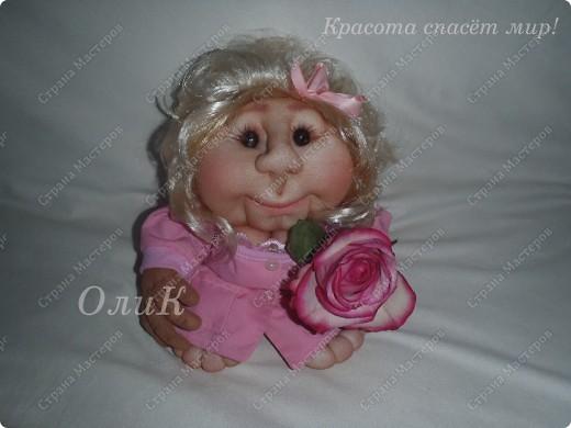 Попросили сделать куклу Удачу парикмахера. Вот что получилось. фото 1