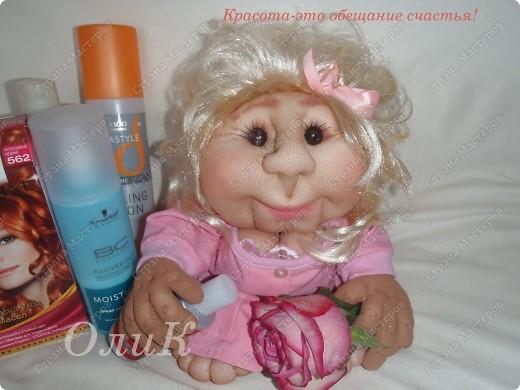 Попросили сделать куклу Удачу парикмахера. Вот что получилось. фото 3