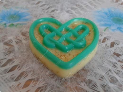 Мои первые мылки))))  мыло с ароматом яблока фото 4
