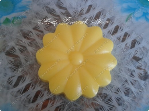 Мои первые мылки))))  мыло с ароматом яблока фото 3