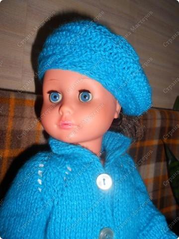 Связала кукле одежду фото 6