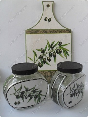 """набор для кухни """"Оливки"""" фото 1"""