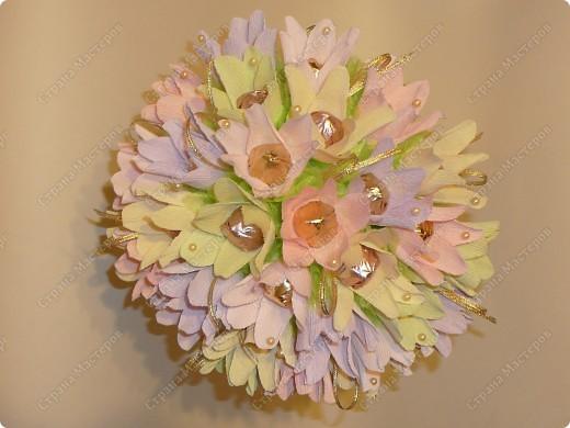 Букет ручной))) 35 цветочков. фото 3