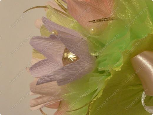 Букет ручной))) 35 цветочков. фото 6