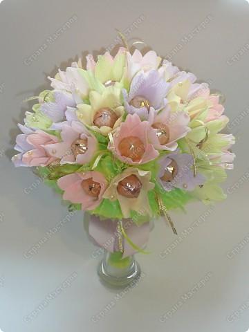 Букет ручной))) 35 цветочков. фото 1