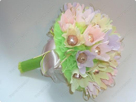 Букет ручной))) 35 цветочков. фото 4
