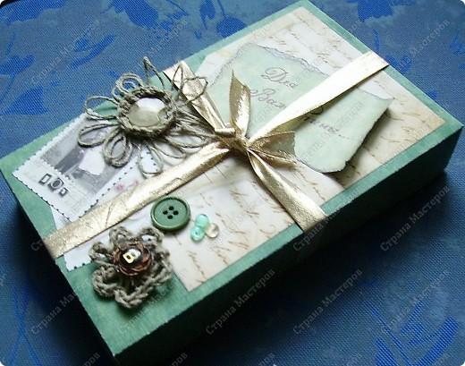 Захотелось спрятать книгу, приготовленную для подарка,  в оригинальную коробку. Ну на сколько она получилась оригинальной - судить вам. фото 1