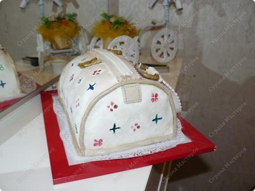 Торт бисквитный белые коржи. фото 4