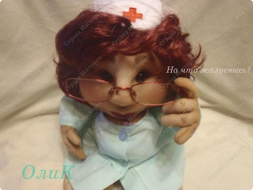 Попросили сделать куклу Удачу парикмахера. Вот что получилось. фото 6