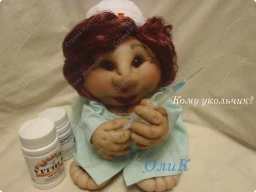 Попросили сделать куклу Удачу парикмахера. Вот что получилось. фото 8