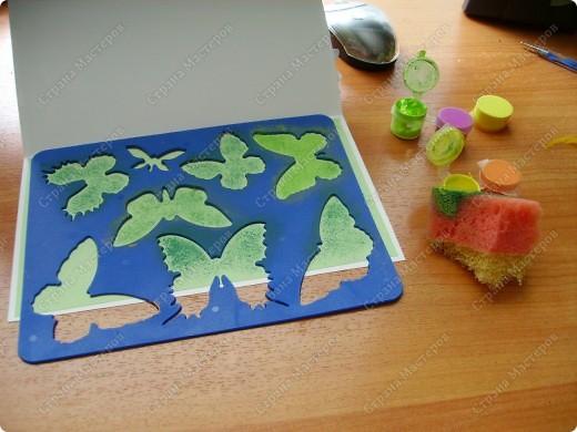 Ну никак не получаются скрап-открытки... Ну нравится использовать бросовый материал, нравятся бабочки, которые слетелись на ромашку   в большом количестве... фото 5