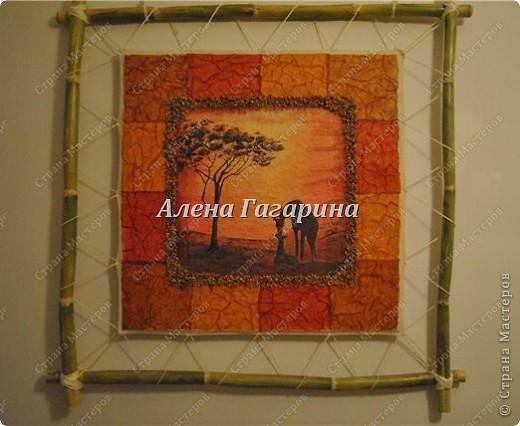 Фоторамка в африканском стиле своими руками - Naturapura.ru