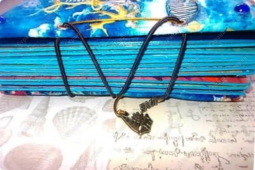 Альбом в подарок сестре. Обложка из хлопка украшена шнуром, полубусинами, чипбордом фото 3