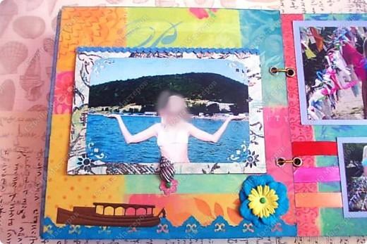 Альбом в подарок сестре. Обложка из хлопка украшена шнуром, полубусинами, чипбордом фото 37