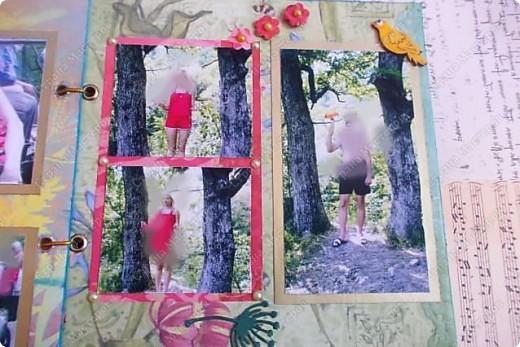 Альбом в подарок сестре. Обложка из хлопка украшена шнуром, полубусинами, чипбордом фото 44