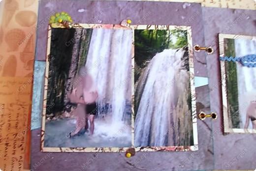 Альбом в подарок сестре. Обложка из хлопка украшена шнуром, полубусинами, чипбордом фото 47