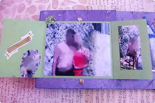 Альбом в подарок сестре. Обложка из хлопка украшена шнуром, полубусинами, чипбордом фото 48