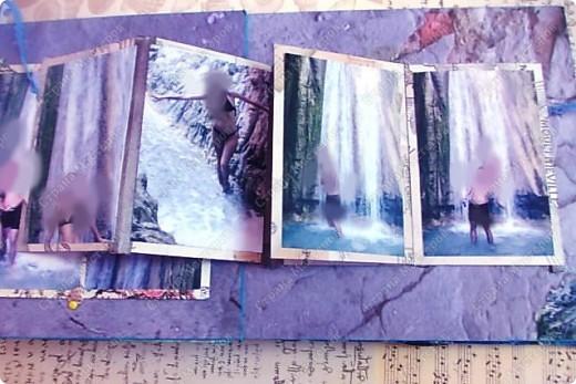 Альбом в подарок сестре. Обложка из хлопка украшена шнуром, полубусинами, чипбордом фото 52