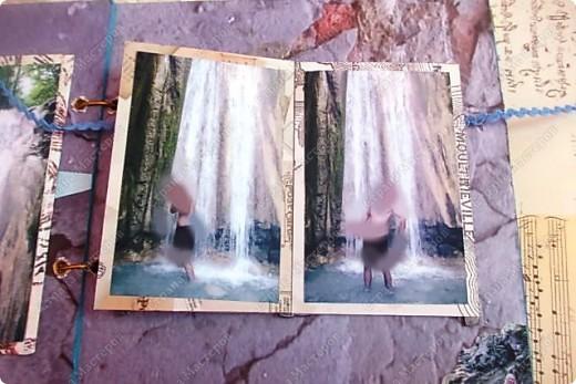 Альбом в подарок сестре. Обложка из хлопка украшена шнуром, полубусинами, чипбордом фото 54