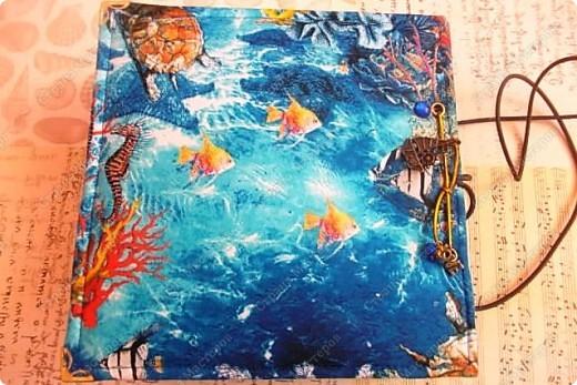 Альбом в подарок сестре. Обложка из хлопка украшена шнуром, полубусинами, чипбордом фото 59
