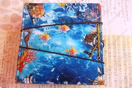Альбом в подарок сестре. Обложка из хлопка украшена шнуром, полубусинами, чипбордом фото 60