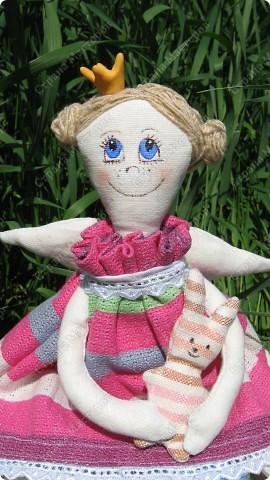 Принцесса на горошине для дочки.Давно хотела сшить эту куколку,вот наконец появилось время и желание осуществилось. фото 1