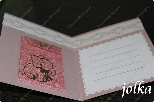 Первая открытка для новорождённого мальчика. Использованные материалы: скрап-бумага, картон, наклейки, бечевка, декоративные элементы фото 6