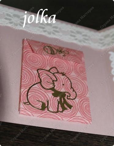 Первая открытка для новорождённого мальчика. Использованные материалы: скрап-бумага, картон, наклейки, бечевка, декоративные элементы фото 7
