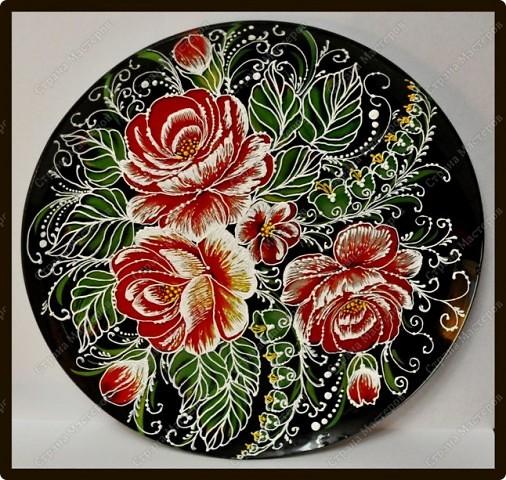 Преображение старой тарелки фото 1