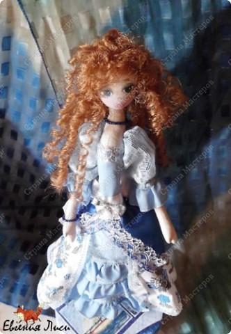 Морская фея......фея неба....ветра....даже не знаю точно..... Имя сама выбрала на этот раз. Симбиоз Марины и Маруси. фото 2