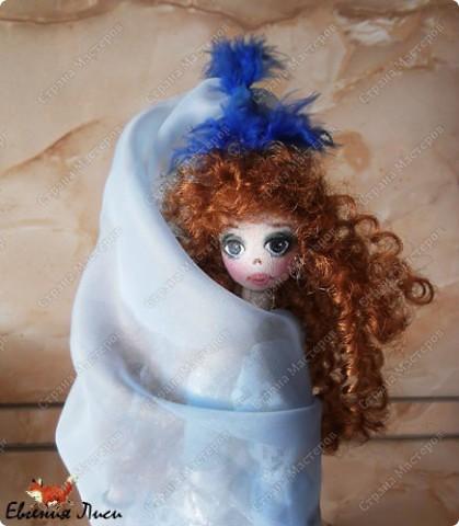 Морская фея......фея неба....ветра....даже не знаю точно..... Имя сама выбрала на этот раз. Симбиоз Марины и Маруси. фото 7