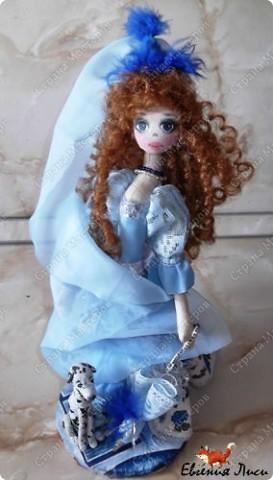 Морская фея......фея неба....ветра....даже не знаю точно..... Имя сама выбрала на этот раз. Симбиоз Марины и Маруси. фото 8