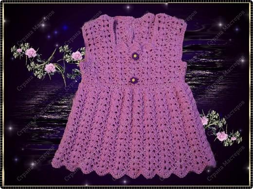 Шапочка и платье для Полины фото 9